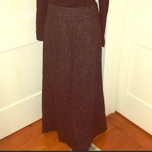 JCrew Wool Blend Tweedy Maxi Skirt